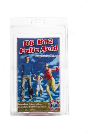 B6 B12 Folic Acid