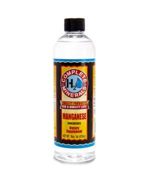Manganese Mineral Water