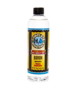 Boron (B) - Mineral Water
